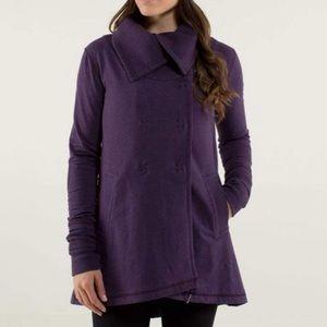 Lululemon gratitude wrap purple jacket size 2